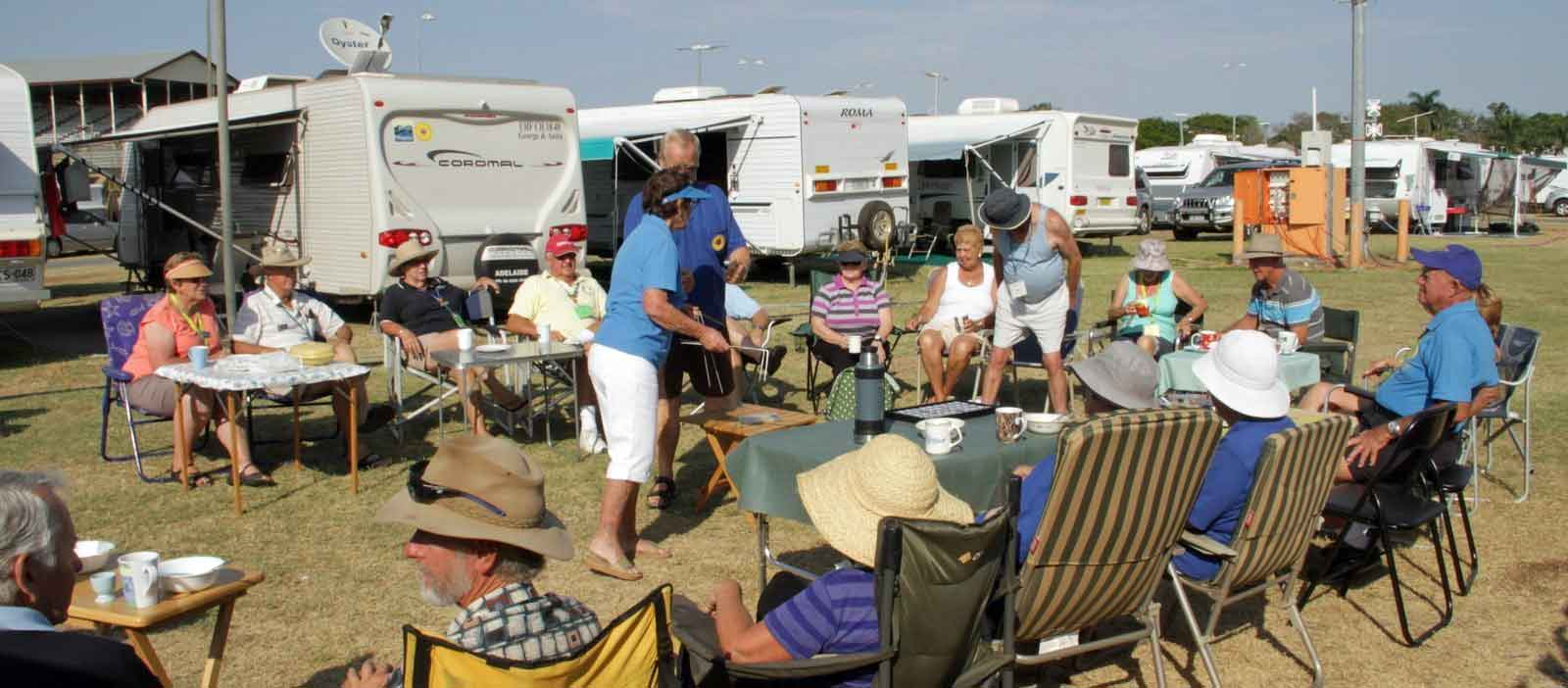 Caravan Club gathering